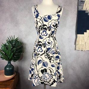 Vanessa Virginia Ink Set Blooms Dress